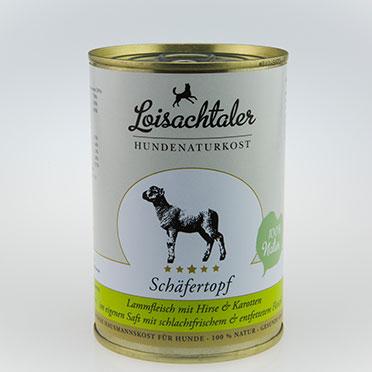 Loisachtaler-Hundenaturkost-Schaefertopf