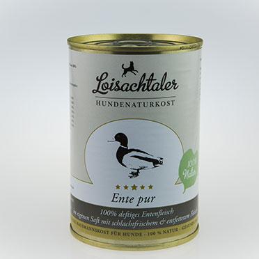 Loisachtaler-Hundenaturkost-Ente-pur