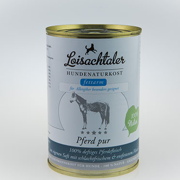 Loisachtaler-Hundenaturkost-Pferd-pur